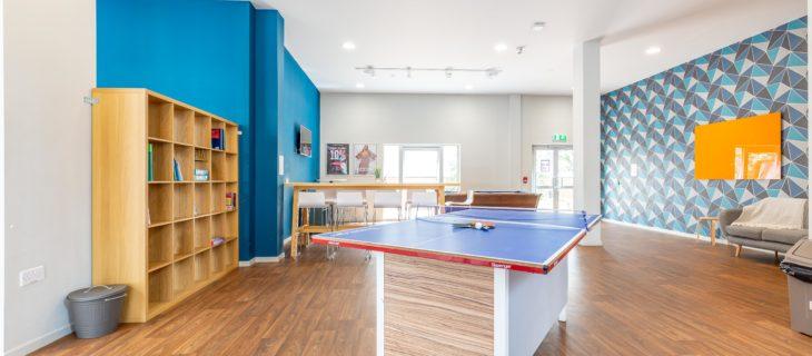 PGSV social space table tennis